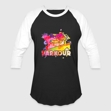 Play Parkour Shirt - Baseball T-Shirt