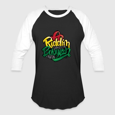 A Riddim A Day Keeps Babylon Away - Baseball T-Shirt