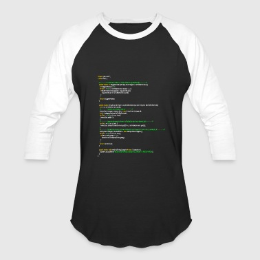 oyvindSort() java code - Baseball T-Shirt
