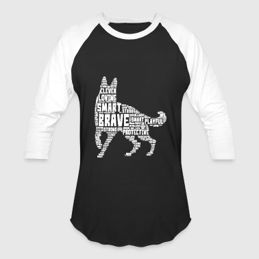 German Shepherd T shirt - Baseball T-Shirt