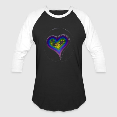 HEART PUZZLE - Baseball T-Shirt