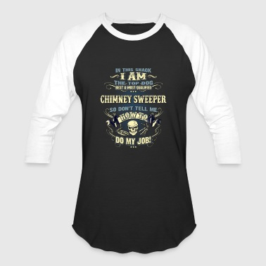 Chimney Sweeper Shirts for Men, Job Shirt, Skull - Baseball T-Shirt