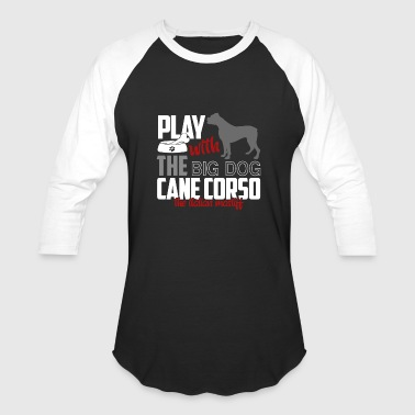 CANE CORSO LET S PLAY SHIRT - Baseball T-Shirt