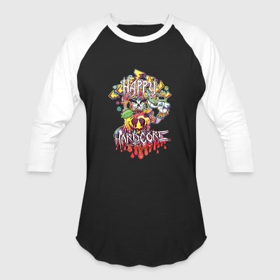 Happy Hardcore - Baseball T-Shirt