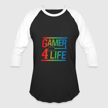 Gamer 4 Life - Baseball T-Shirt