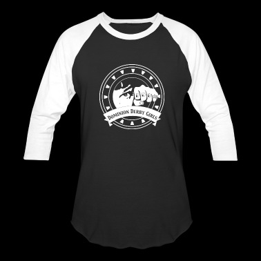 DDG backless logo - Baseball T-Shirt