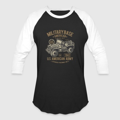 JEEP AMERICAN ARMY - Baseball T-Shirt