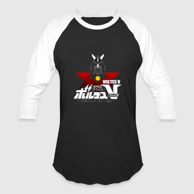 JAPAN CLASSIC RETRO ANIME ROBOT VOLTES V FIVE - Baseball T-Shirt