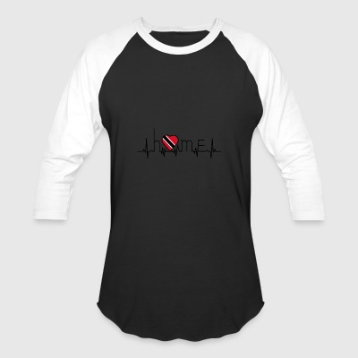 i love home Trinidad Tobago - Baseball T-Shirt
