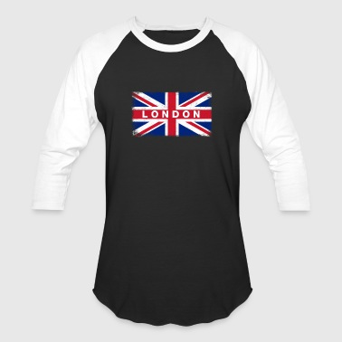London Shirt Vintage United Kingdom Flag T-Shirt - Baseball T-Shirt