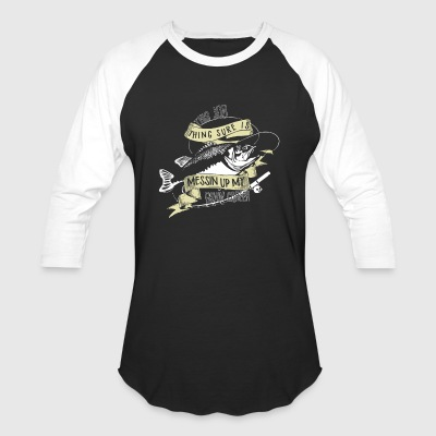 fishing Career - Baseball T-Shirt