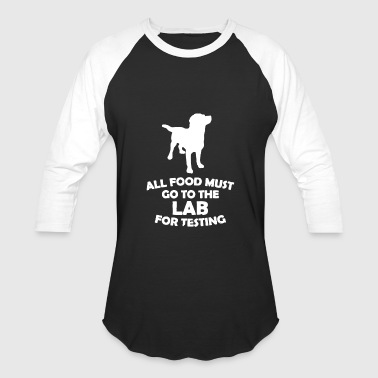 Dog Food For Testing Lab - Baseball T-Shirt