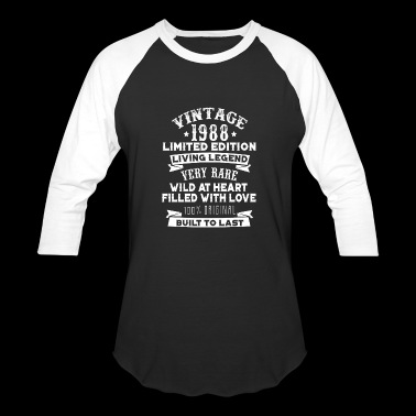 Vintaged 1988 Living Legend Built To Last - Baseball T-Shirt