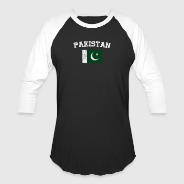 Pakistani Flag Shirt - Vintage Pakistan T-Shirt - Baseball T-Shirt