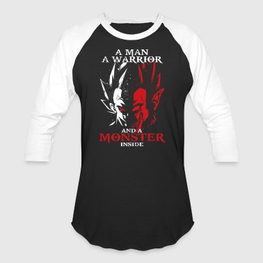 dragon ball majin vegeta monster in side - Baseball T-Shirt