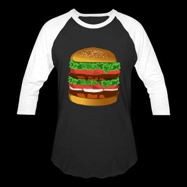 Double Lettuce AlexBurger - Baseball T-Shirt