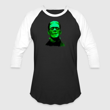 Frankenstein Monster Artwork - Baseball T-Shirt