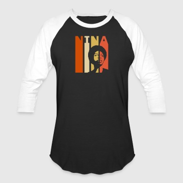 Retro Nina - Baseball T-Shirt