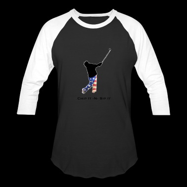 Chip It N Sip It - Baseball T-Shirt