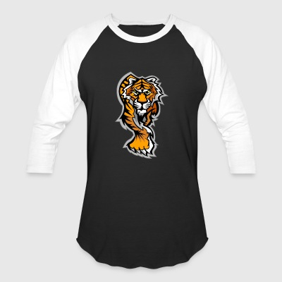Asian Tiger - Baseball T-Shirt