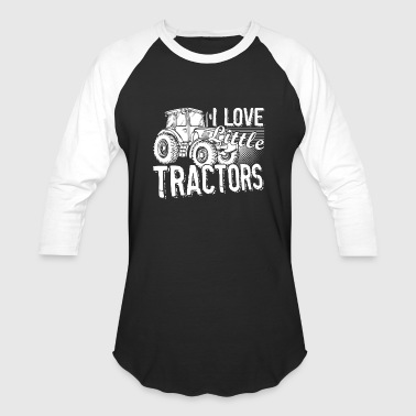 I Love Little Tractors Shirt - Baseball T-Shirt