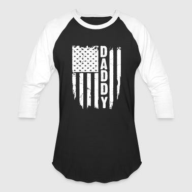 DADDY FLAG - Baseball T-Shirt