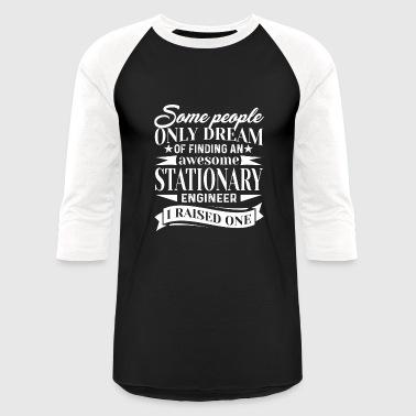 Awesome Stationary Engineer Shirt - Baseball T-Shirt
