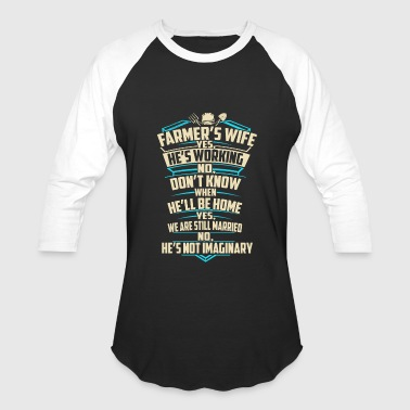 Farmer s wife T Shirts - Baseball T-Shirt