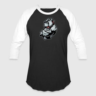 muscular_dog - Baseball T-Shirt
