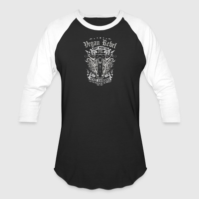 Vegan Rebel - Baseball T-Shirt