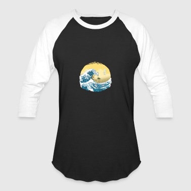 The Great Wave of Alola - Baseball T-Shirt