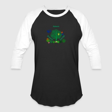 nature1 - Baseball T-Shirt