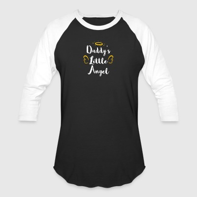 DADDYS LITTLE ANGEL - Baseball T-Shirt