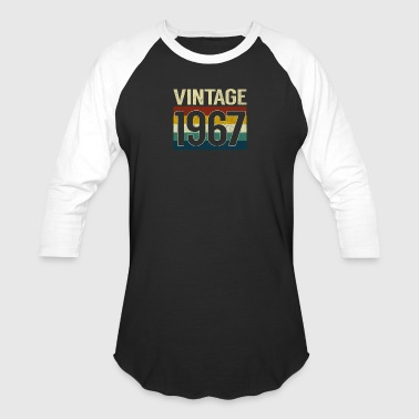 Retro Vintage 1967 T-Shirt Classic 50th Birthday - Baseball T-Shirt