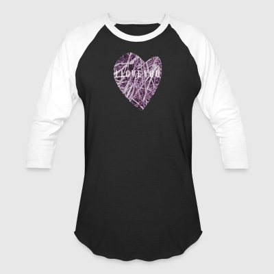 Heart PINKGLOW - Baseball T-Shirt