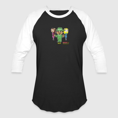 Slick from Marvin the Simp Cartoon - Baseball T-Shirt