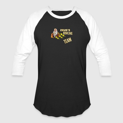 Zeus's Bowling Team - Baseball T-Shirt