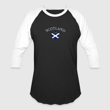 Scottish Flag designs - Baseball T-Shirt