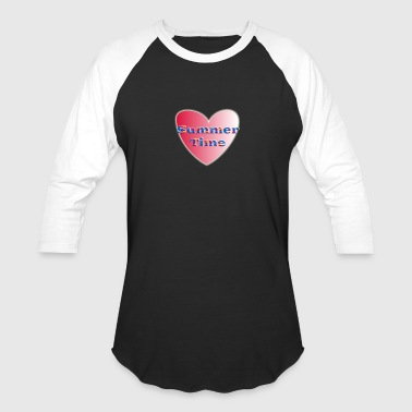 Simple Heart - Baseball T-Shirt