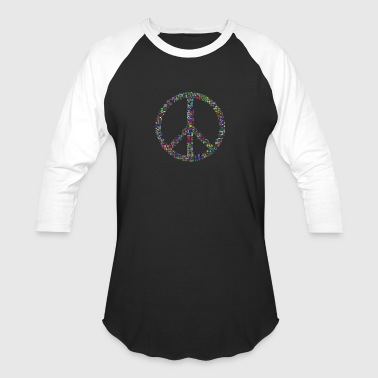 peace colorful - Baseball T-Shirt