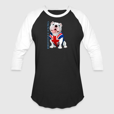 British Dog - Baseball T-Shirt