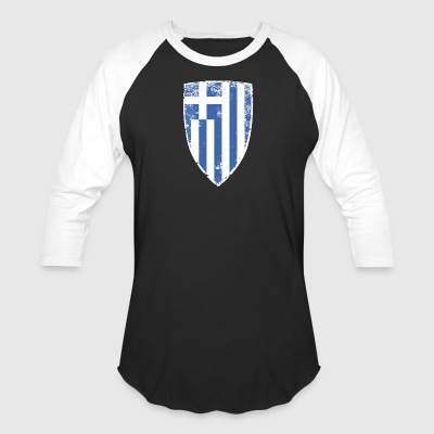 Shield of Greece - Baseball T-Shirt