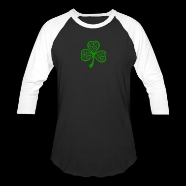Celtic Shamrock - Baseball T-Shirt