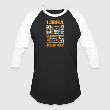 Libra Amazing In Bed - Baseball T-Shirt
