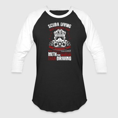 Scuba Diving Shirt - Baseball T-Shirt