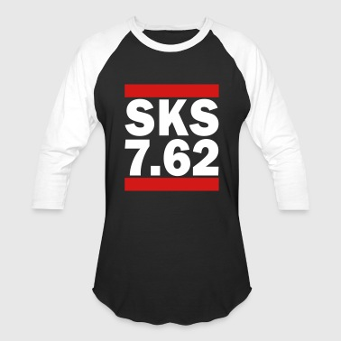 SKS 7.62 - Baseball T-Shirt