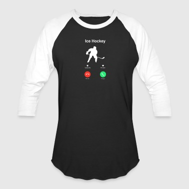 Ice_Hockey - Baseball T-Shirt