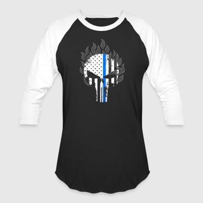 Thin Blue Line Shirt - Baseball T-Shirt