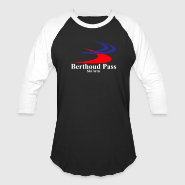 Berthoud Pass Ski Area - Baseball T-Shirt