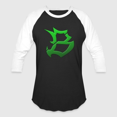 Green Buggy Fresh Logo - Baseball T-Shirt